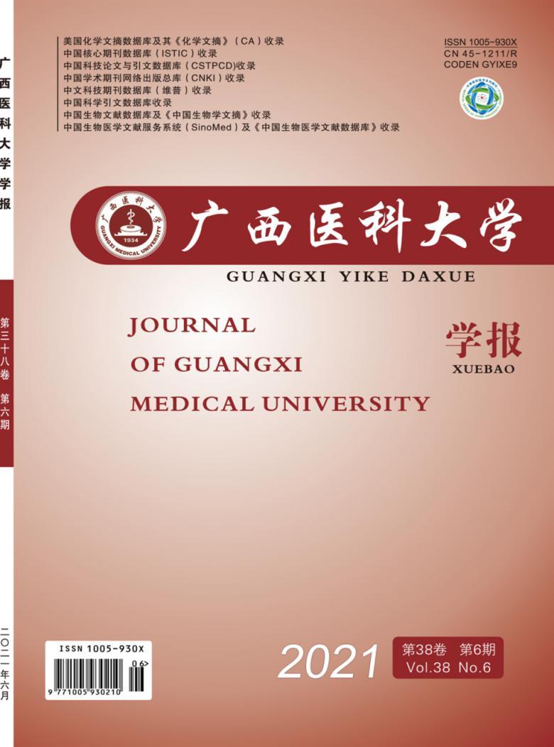 《广西医科大学学报》 双月刊